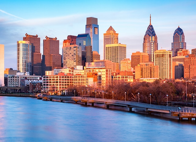 Downtown Philadelphia, Pennsylvania